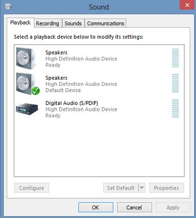 sound playback